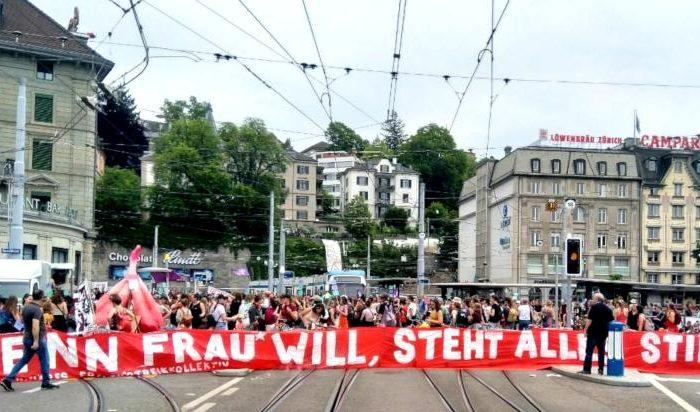 Wenn Frau* will, steht alles still – Bericht zum Frauenstreik in der Schweiz