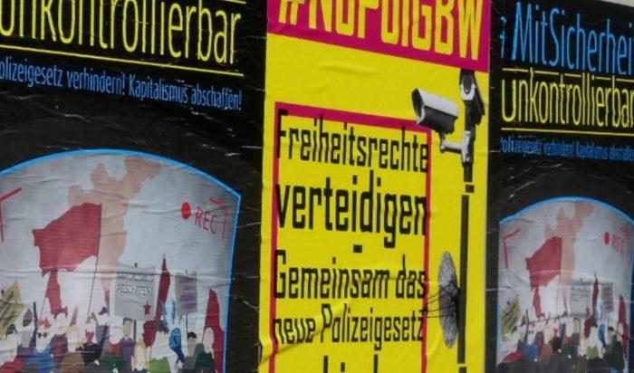 Gegen neue Polizeigesetze – Am Samstag auf die Straße!