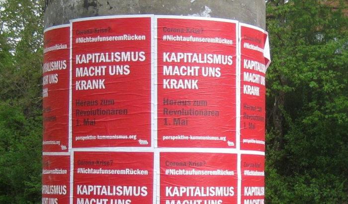 Auf der Straße sichtbar – die Mobiliserung zum 1.Mai in VS