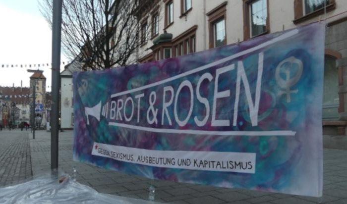 Bilderbericht: Kundgebung am 8.März in Villingen
