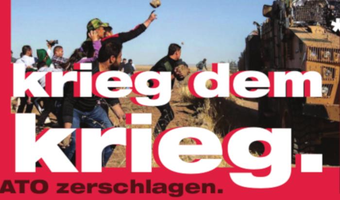 Aufruf gegen die Nato- Sicherheitskonferenz in München