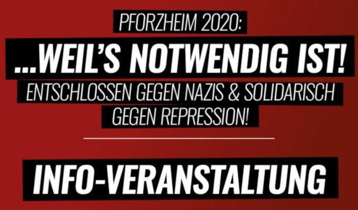 Entschlossen gegen Nazis am 23. Februar in Pforzheim