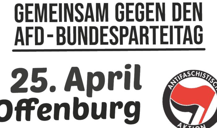 Stoppt die Rechten! Gemeinsam gegen den AfD-Bundesparteitag