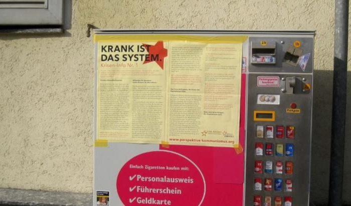 Wandzeitung Krisen-Info 1