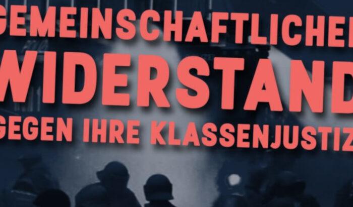 Bundesweite Demo am 5. Dezember für Solidarität mit den Betroffenen der G20 Repression