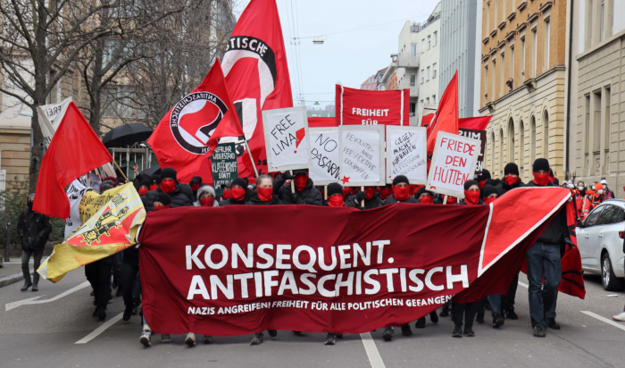 Bericht und Video: Überregionale Antifa-Demonstration in Stuttgart