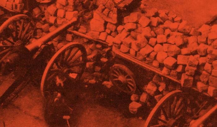 Broschüre: Die Pariser Kommune 1871