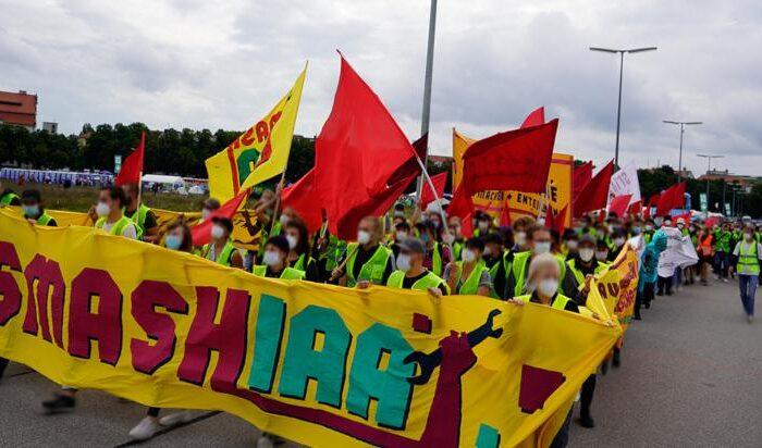 Nachbereitung der Proteste gegen die IAA