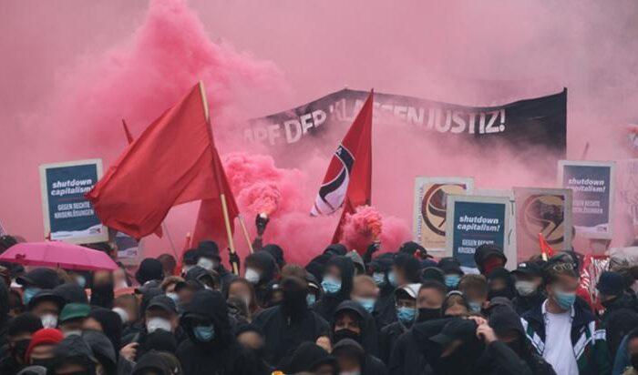 Bericht: WirsindalleLinX Demo am 18.09 in Leipzig